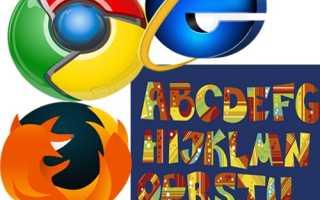 Почему изменился и как поменять размер и цвет шрифта в Yandex browser?