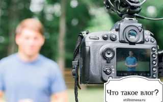 Что такое влог на Ютубе: информация для тех, кто хочет зарабатывать на своем канале