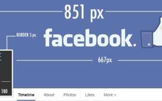 Размер фото для Фейсбука и сервисы где его можно исправить