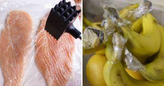 16 непривычных методов использования пищевой пленки