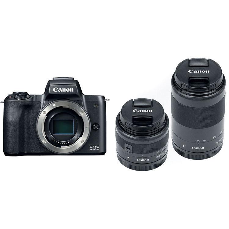 Canon EOS M50 без объектива